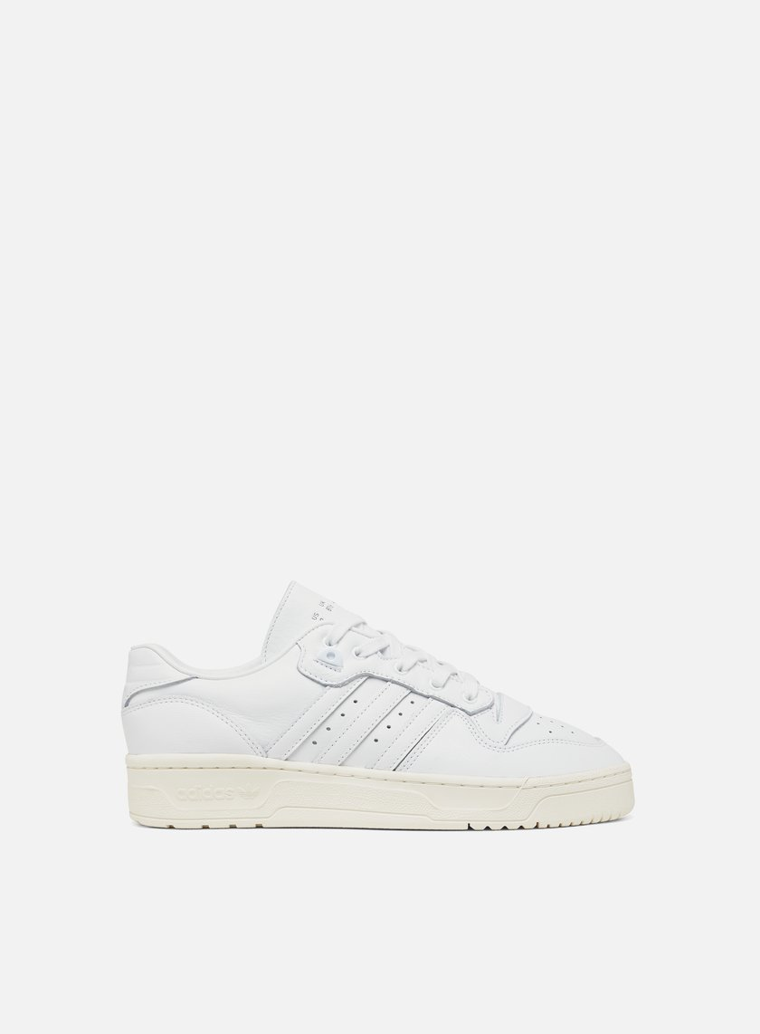 There Appeal to be attractive shell  Adidas Originals Rivalry Low Uomo, Ftwr White Ftwr White Off White |  Graffitishop