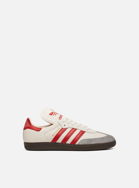sneakers adidas originals samba classic og chalk white scarlet clear granite