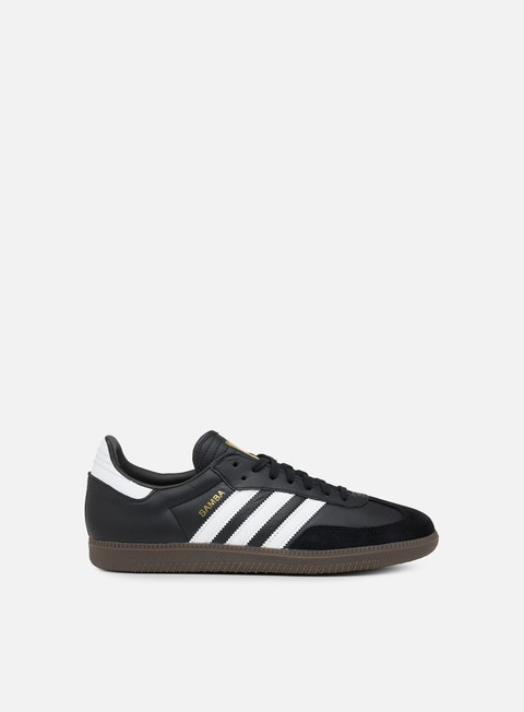 sneakers adidas originals samba fb core black ftwr white core red