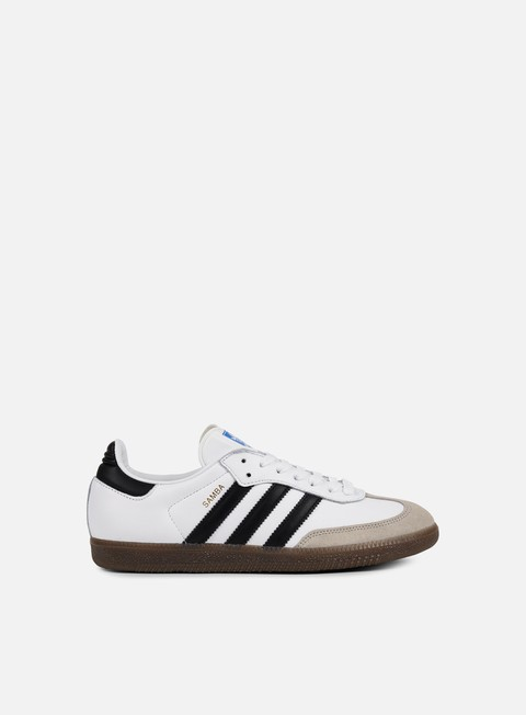 sneakers adidas originals samba og white core black gum