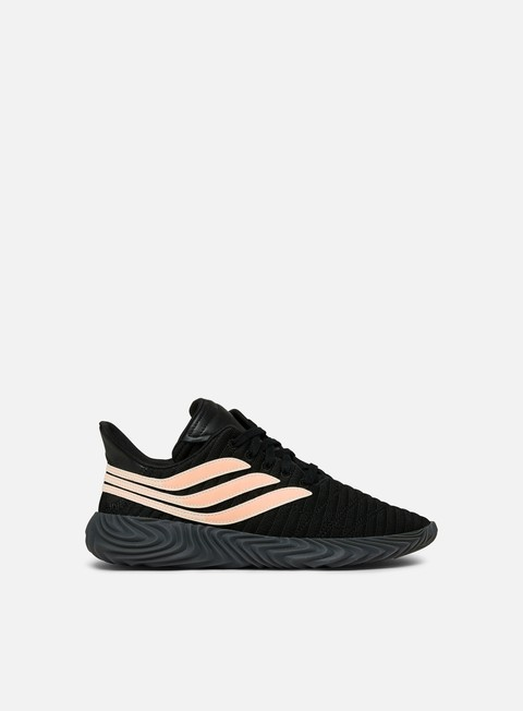 sneakers adidas originals sobakov core black clear orange core black