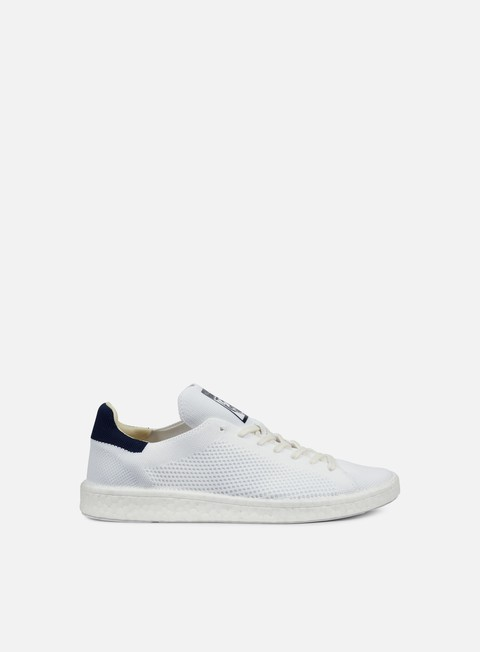 sneakers adidas originals stan smith boost pk white white collegiate navy