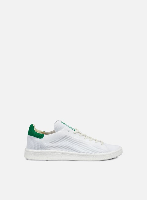sneakers adidas originals stan smith boost pk white white green
