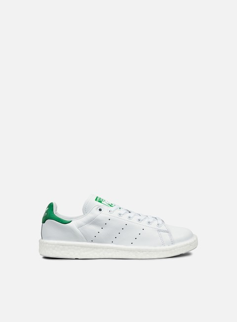 sneakers adidas originals stan smith boost white white green