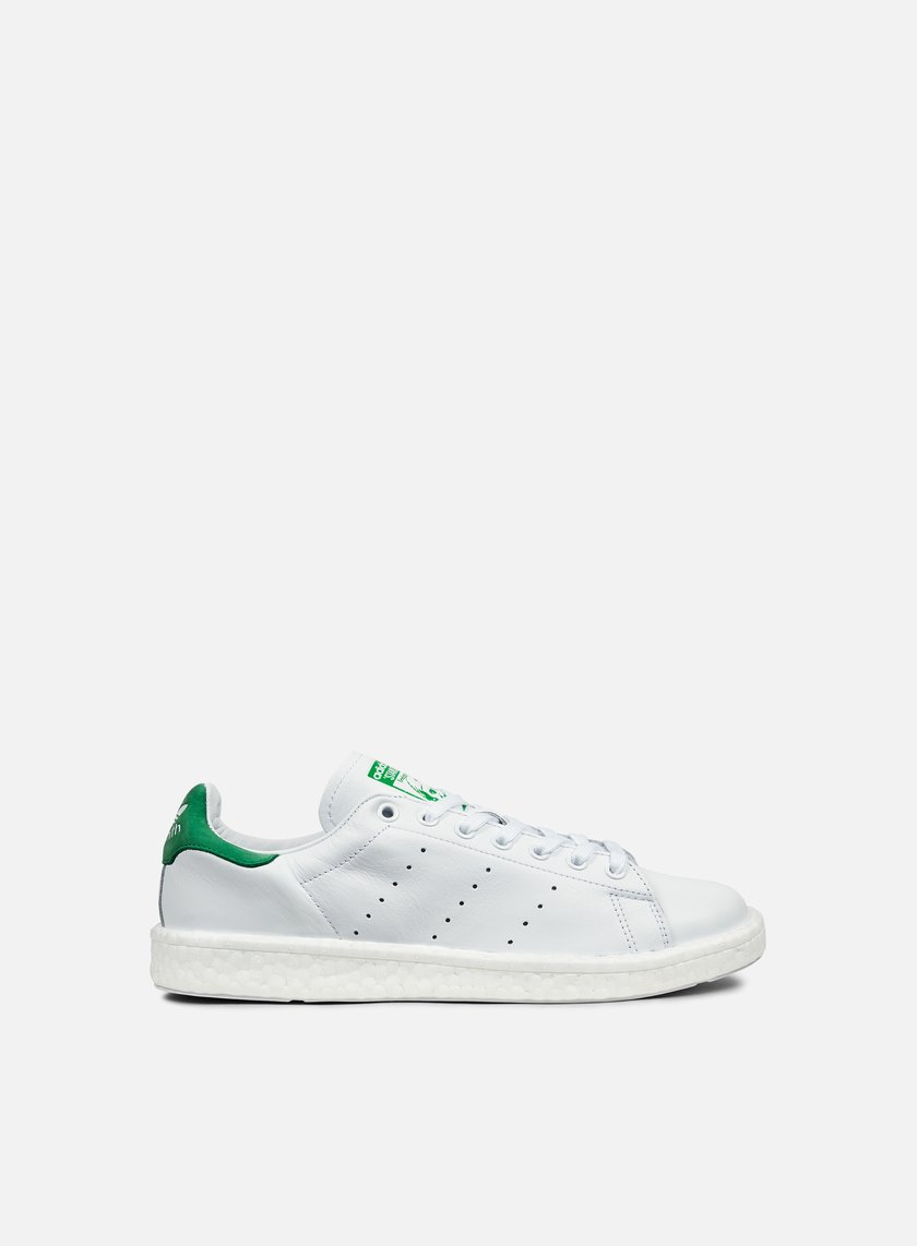 Adidas Originals - Stan Smith Boost, White/White/Green