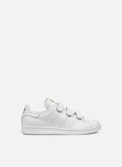 sneakers adidas originals stan smith cf running white running white gold metal