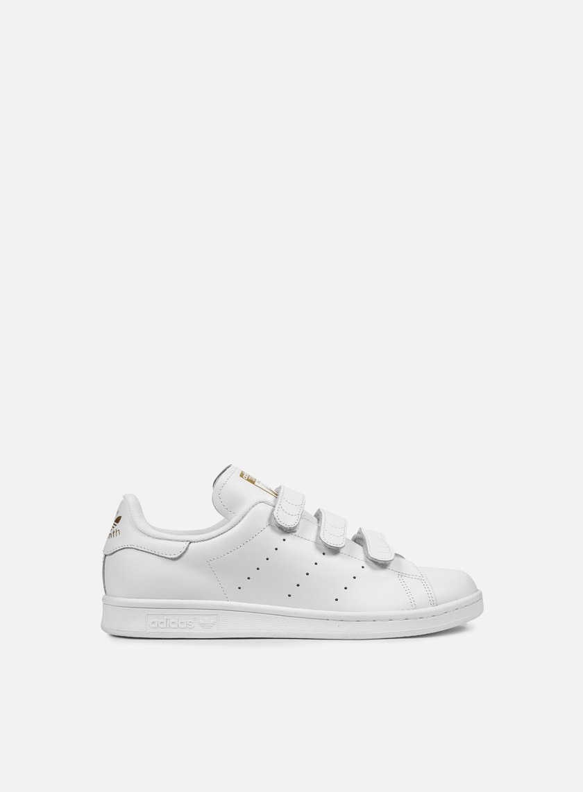 adidas original stan smith white gold