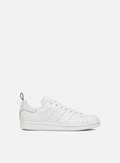 Adidas Originals - Stan Smith, Crystal White/Ftwr White/Scarlet