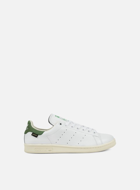 sneakers adidas originals stan smith gtx white white green