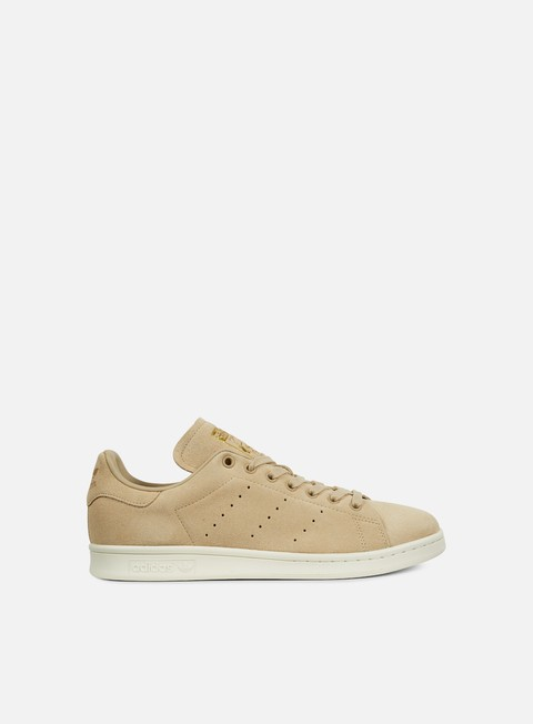 sneakers adidas originals stan smith linen khaki off white