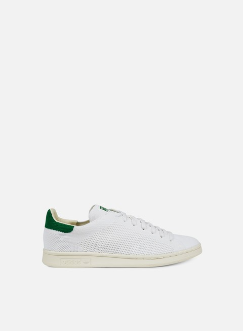 sneakers adidas originals stan smith og primeknit white chalk white green