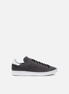 Adidas Originals - Stan Smith Primeknit, Core Black/Core Black/White