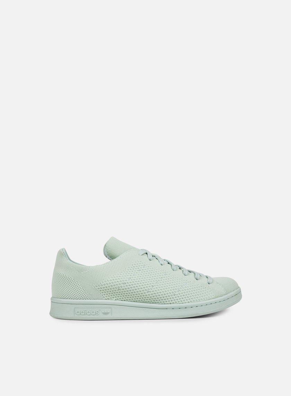 Adidas Originals - Stan Smith Primeknit, Vapour Green/Vapour Green/Vapour Green