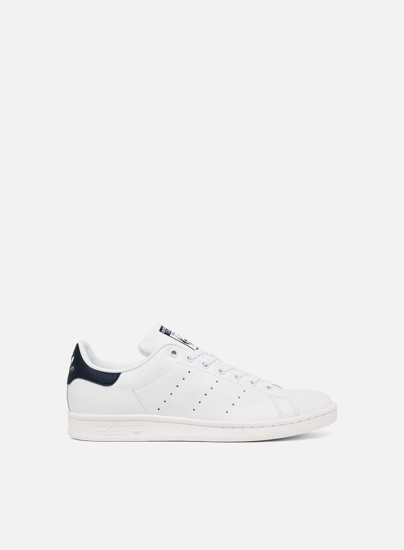 Adidas Originals - Stan Smith,  Running White/Running White/New Navy