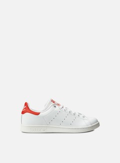 Adidas Originals - Stan Smith, Running White/Running White/Red 1