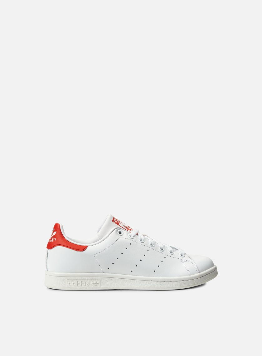 Adidas Originals - Stan Smith, Running White/Running White/Red