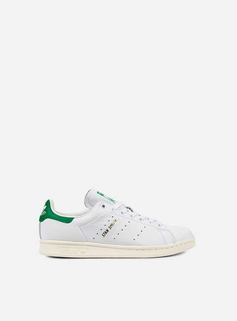 sneakers adidas originals stan smith running white white green