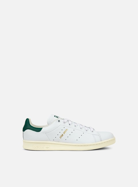 sneakers adidas originals stan smith white white collegiate green