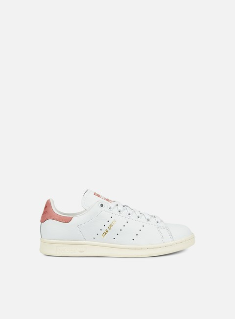 sneakers adidas originals stan smith white white ray pink
