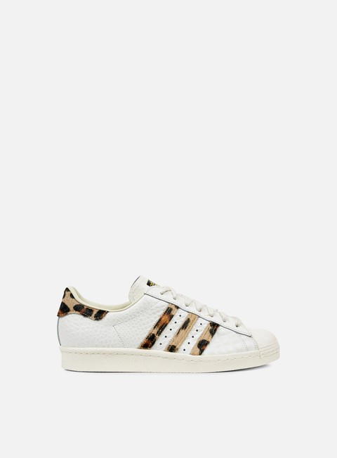 sneakers adidas originals superstar 80s animal chalk white chalk white gold metal