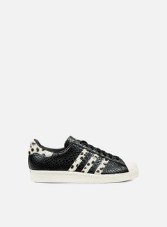 Adidas Originals - Superstar 80s Animal, Core Black/Chalk White/Gold Metal 1