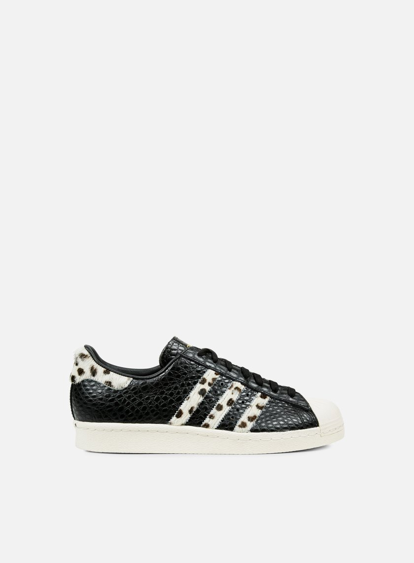 Adidas Originals - Superstar 80s Animal, Core Black/Chalk White/Gold Metal