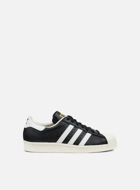 sneakers adidas originals superstar 80s black white chalk