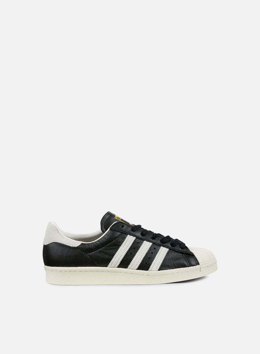 Adidas Originals - Superstar 80s, Black/White/Gold