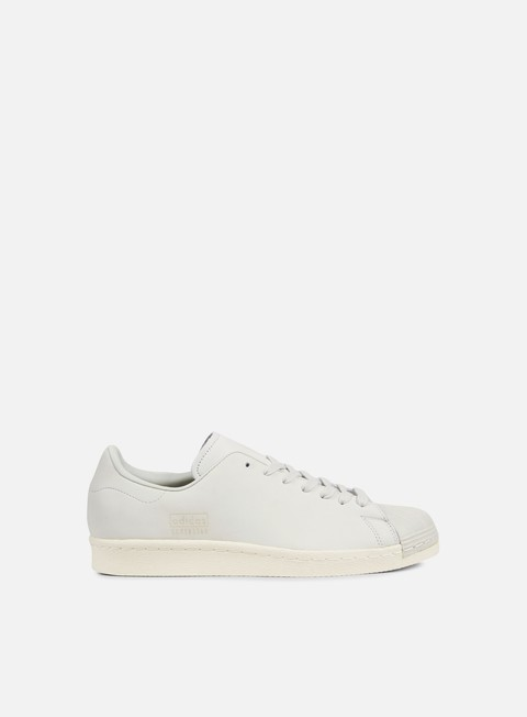 sneakers adidas originals superstar 80s clean crystal white off white