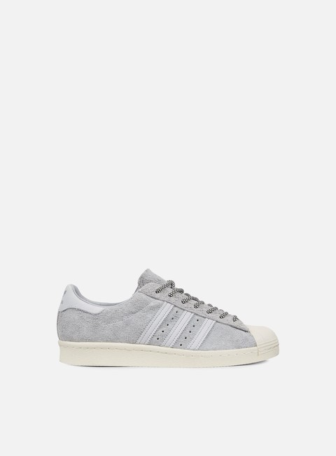 sneakers adidas originals superstar 80s clear onix clear grey chalk white