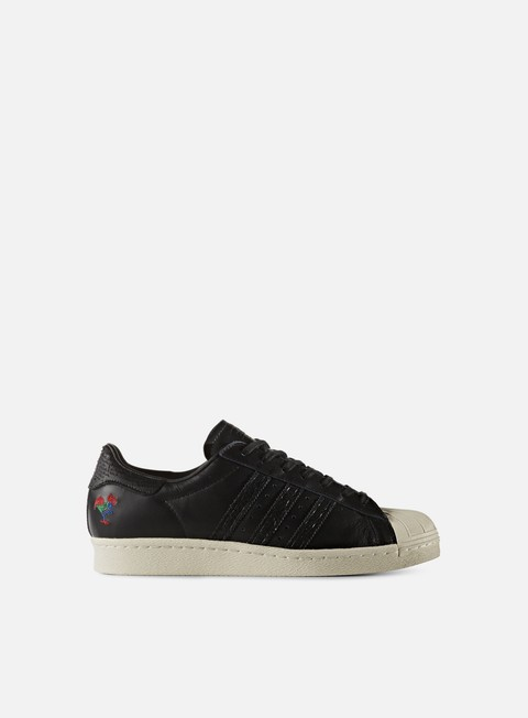 sneakers adidas originals superstar 80s cny core black core black chalk white