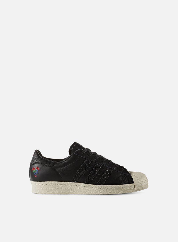 Adidas Originals - Superstar 80s CNY, Core Black/Core Black/Chalk White
