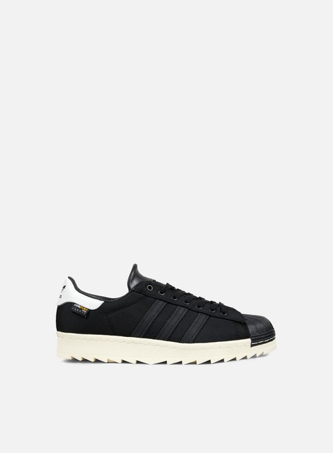 sneakers adidas originals superstar 80s cordura core black core black chalk white