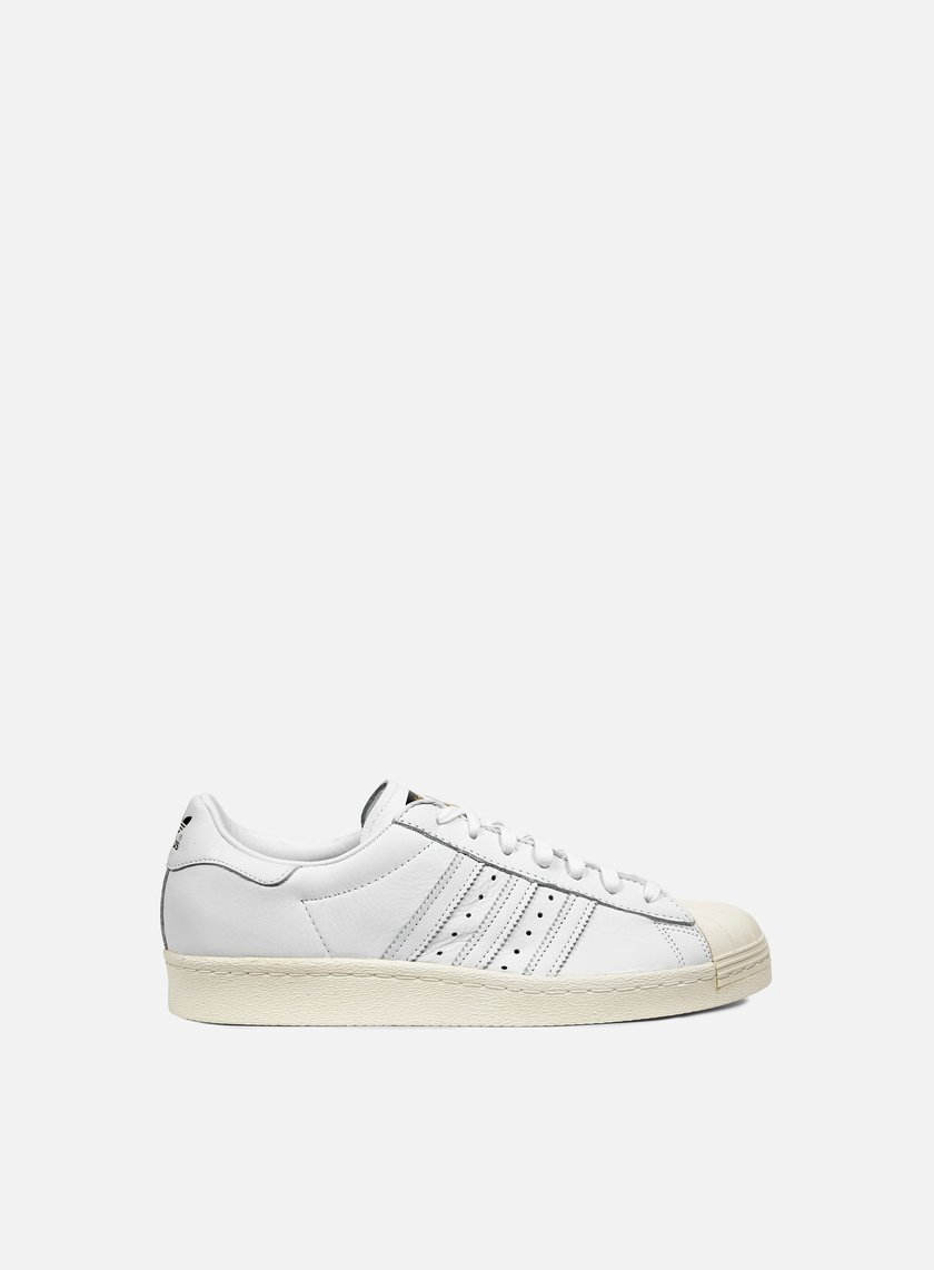 Adidas Originals - Superstar 80s DLX, White/White/Cream White