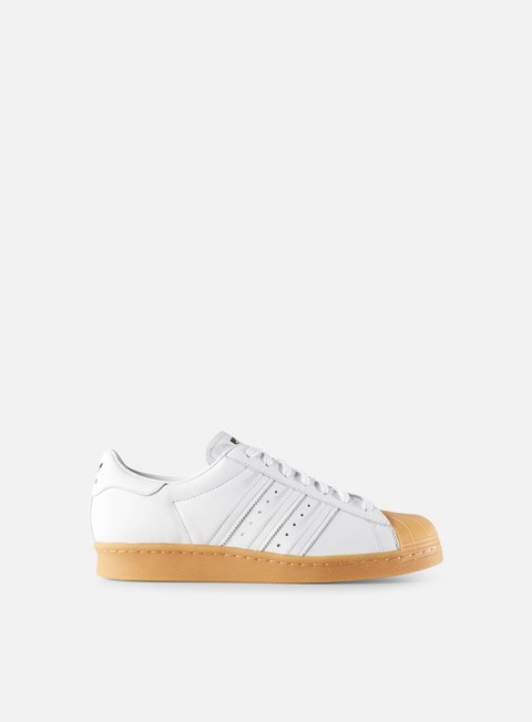 sneakers adidas originals superstar 80s dlx white white gold metal