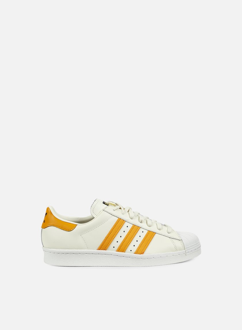 Adidas Originals - Superstar 80s, Off White/EQT Orange/Core Black