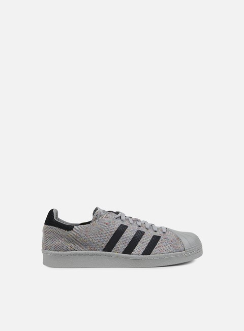 sneakers adidas originals superstar 80s primeknit solid grey solid grey white