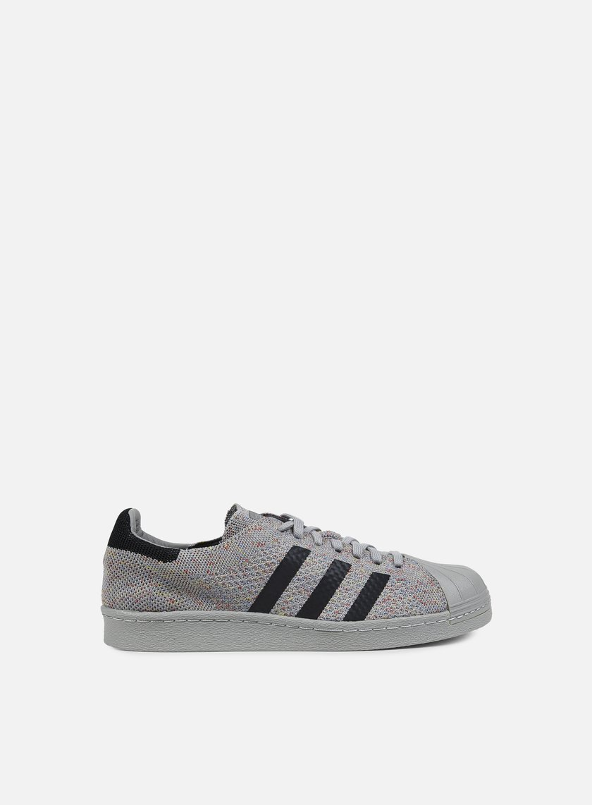 ... Adidas Originals - Superstar 80s Primeknit, Solid Grey/Solid Grey/White 1 ...