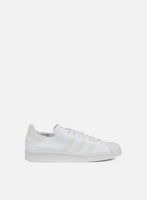 sneakers adidas originals superstar 80s primeknit white white core black