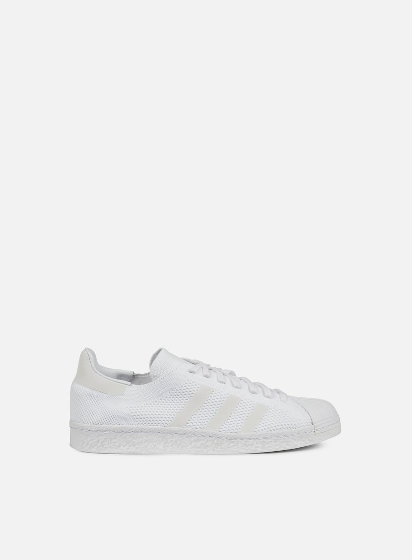 Adidas Originals - Superstar 80s Primeknit, White/White/Core Black