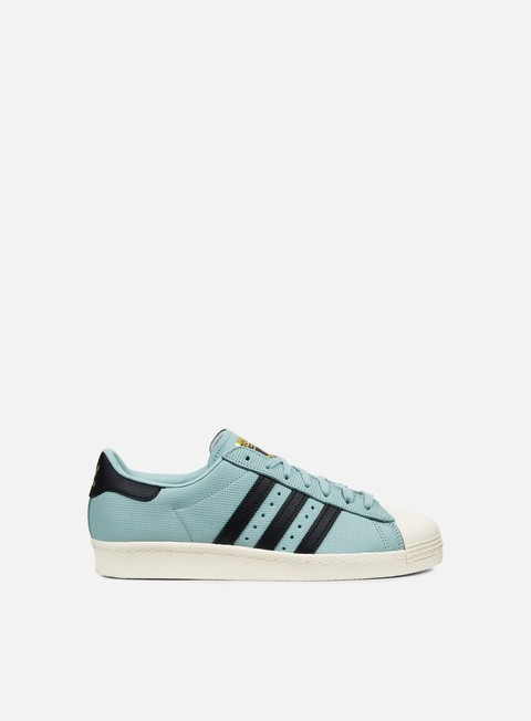 sneakers adidas originals superstar 80s tactile green core black core black