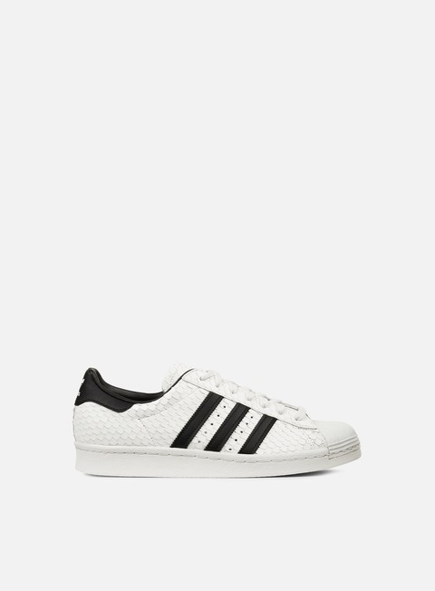 sneakers adidas originals superstar 80s vintage white core black mineral blue