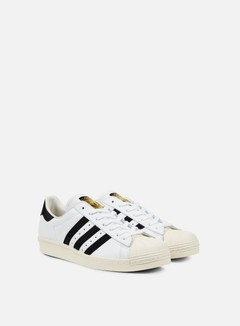 Adidas Originals - Superstar 80s, White/Black/Chalk 2