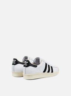 Adidas Originals - Superstar 80s, White/Black/Chalk 3