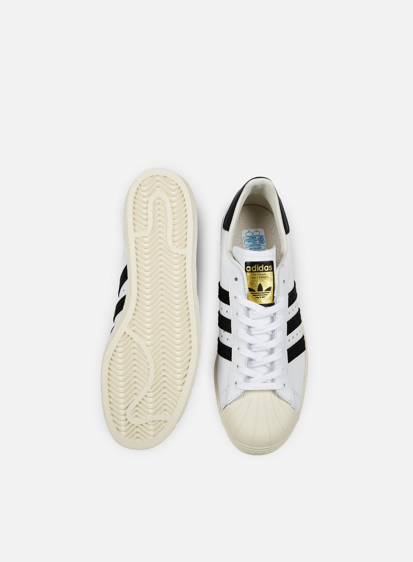 xfiks ADIDAS ORIGINALS - Superstar 80s, White/Black/Chalk € 76,30