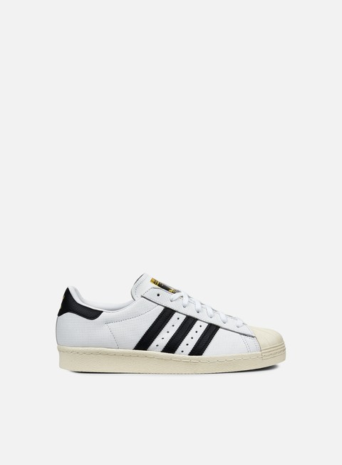 sneakers adidas originals superstar 80s white core black core black