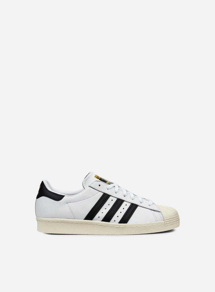 Adidas Originals - Superstar 80s, White/Core Black/Core Black