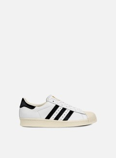 Adidas Originals - Superstar 80s, White/Core Black/Gold 1