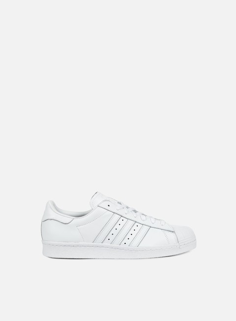 sneakers adidas originals superstar 80s white white core black