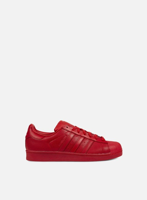 sneakers adidas originals superstar adicolor scarlet scarlet scarlet